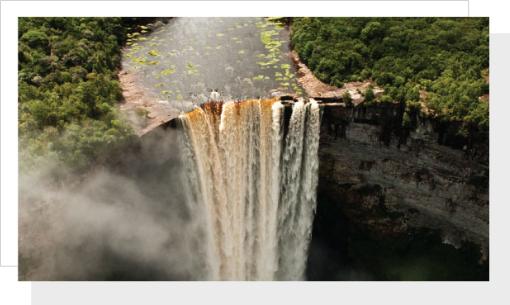 Exploring Kaieteur Falls